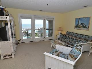 Villa Capriani 304-B Oceanfront | 3 Pools, Largest Pool on NC Coast, 2 Hot Tubs, Grill Area, Tennis Courts, Restaurant, Internet - North Topsail Beach vacation rentals