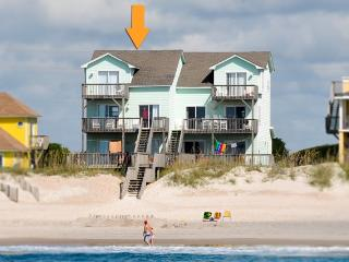 Island Drive 3960 Oceanfront! | Internet, Jacuzzi, Fireplace - North Topsail Beach vacation rentals