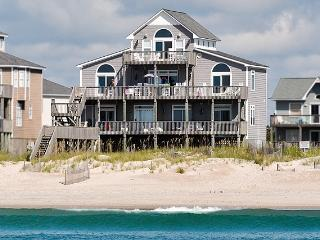 Hampton Colony 644 Oceanfront! | Community Pool, Hot Tub, Jacuzzi, Fireplace, Wedding Friendly - North Topsail Beach vacation rentals