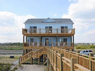 New River Inlet Rd 1198 Oceanfront! | Internet, Dune Deck - North Topsail Beach vacation rentals