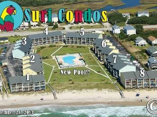 Surf Condo 436 Oceanview! | Community Pool, Internet - Topsail Island vacation rentals