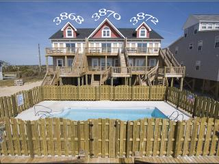 Island Drive 3870 Oceanfront! | Shared Pool, Internet - North Topsail Beach vacation rentals