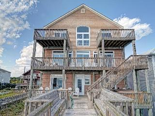 Island Drive 4464 Oceanfront! | Hot Tub, Jacuzzi, Fireplace - North Topsail Beach vacation rentals