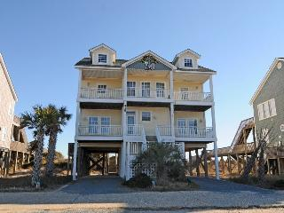 New River Inlet Rd 418 Oceanfront! | Private Pool, Internet, Jacuzzi - North Topsail Beach vacation rentals