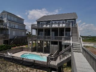 New River Inlet Rd 454 Oceanfront! | Private Heated Pool, Jacuzzi, Internet - North Topsail Beach vacation rentals
