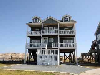 New River Inlet Rd 460 Oceanfront! | Hot Tub, Jacuzzi, Internet, Pet Friendly - North Topsail Beach vacation rentals