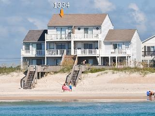 New River Inlet Rd 1334-30 Oceanfront! | Internet, Jacuzzi - North Topsail Beach vacation rentals