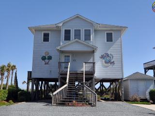 Island Drive 3634 Oceanfront! | Private Heated Pool, Hot Tub, Fireplace, Internet - North Topsail Beach vacation rentals