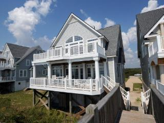 Island Drive 4256 Oceanfront! | Internet, Community Pool, Hot Tub, Jacuzzi, Fireplace. Discounts Available- See Description - North Topsail Beach vacation rentals