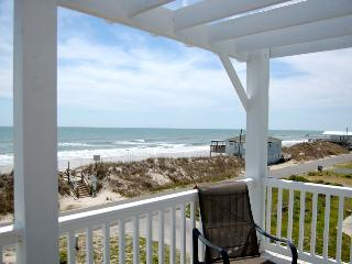 Topsail Road 321 Oceanview! | Cute Beach Cottage only steps away from the beach access - North Topsail Beach vacation rentals