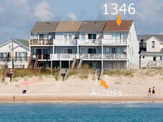 New River Inlet Rd 1346 Oceanfront! | Internet, Jacuzzi - North Topsail Beach vacation rentals