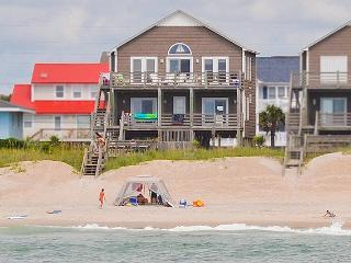 S. Shore Drive 1604 Oceanfront! | Fireplace, Internet - Surf City vacation rentals