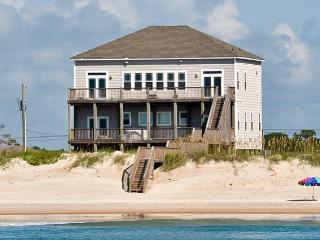 New River Inlet Rd 1330 Oceanfront! | Hot Tub, Theater, Jacuzzi, Elevator, Internet - North Topsail Beach vacation rentals