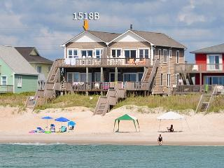 S. Shore Drive 1518B Oceanfront!   Duplex Just Outside the Heart of Surf City! - Surf City vacation rentals