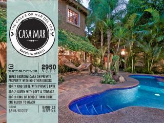 3 BR/3 BA + Private Casa + Pool + Walk to Beach - Sayulita vacation rentals