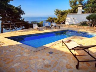 Seafront villa with pool for rent, Sumartin,  Brac - Sumartin vacation rentals