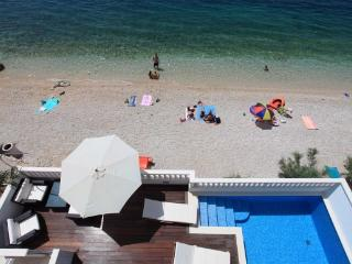 Seaside holiday villa with pool, Makarska riviera - Makarska vacation rentals