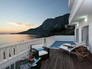 Seaside holiday villa with pool, Makarska riviera - Makarska vacation rentals