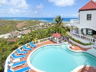 6 bedroom villa and spectacular view of Oyster Pond | Island Properties - Saint Martin-Sint Maarten vacation rentals