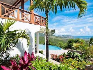 New Caribbean style villa with large private infinity pool and stunning views - Saint Martin-Sint Maarten vacation rentals