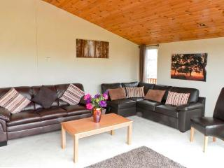 ASH TREE LODGE, detached log cabin, fabulous views, all ground floor, hot tub, in Stamford Bridge, Ref 20753 - Stamford Bridge vacation rentals