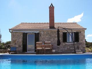 Cozy stone house with a pool, Postira, Brac - Cove Lovrecina (Postira) vacation rentals