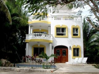 3 bdrm villa in Playacar private Pool & ocean view - Playa del Carmen vacation rentals