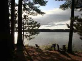 2 BDRM WATERFRONT COTTAGE - SUNSET VIEW - Dwight vacation rentals