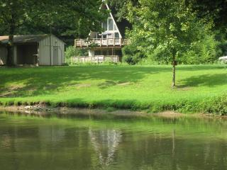 A-Frame on the Water at Historic Sickman's Mill - Pequea vacation rentals