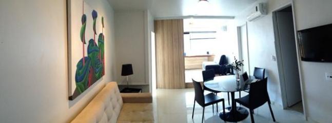 2 room 2 bath in Leblon beach wifi air cond pool - Image 1 - Rio de Janeiro - rentals