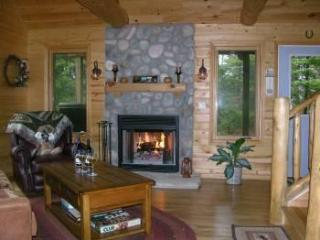 Moose Lodge on Cranberry Lake*Gorgeous Home, secluded, dogs ok, wifi, log beds! - Rapid River vacation rentals