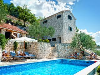 Stone villa with a pool for rent, Makarska area - Croatia vacation rentals