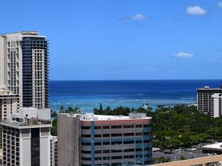 Amazing ocean and city view deluxe condo! - Honolulu vacation rentals