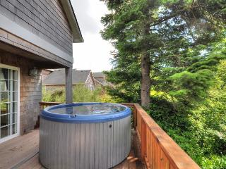 Pet-friendly with a private hot tub on nature's preserve - Rockaway Beach vacation rentals