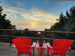 Private hot tub and beautiful views await at this dog-friendly home! - Lincoln City vacation rentals