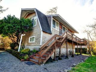 Rustic house w/ wonderful ocean views & nearby beach access - dogs ok! - Arch Cape vacation rentals