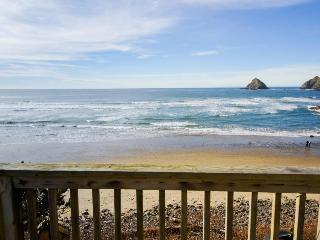 Charming, oceanfront getaway w/ gorgeous water views & easy beach access! - Oceanside vacation rentals
