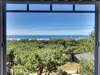 Dog-friendly home w/spectacular views & close to lake + 1 block to the beach! - Waldport vacation rentals