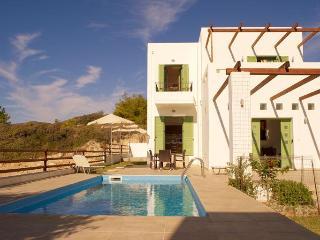 Stunning detached villa, private pool & sea views - Gennadi vacation rentals