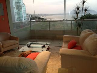 4 bedroorm ocean view luxury furnished/equipped apt. with fantastic view of the Lima bay - Lima vacation rentals