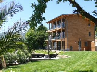Established Mediterranean garden - Luxury Eco villa with 240º panoramic sea views. - La Palud sur Verdon - rentals