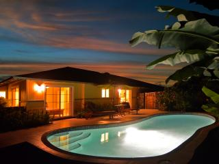 Malulani Ocean View 3 Bed/2 Bath Private Pool A/C - Kailua-Kona vacation rentals