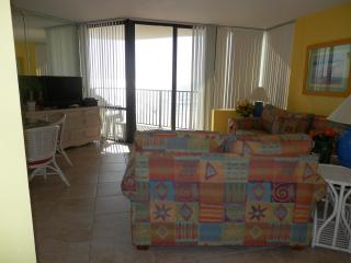 Relaxing 1 Bedroom Gulf Front Condo at Sunbird - Panama City Beach vacation rentals
