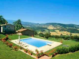 Casa dei Frati offers stunning views of the countryside and beautiful gardens - Florence vacation rentals