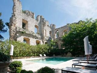 Elegant Chateau D Aix features pool, chapel, tennis, 12 acres of garden & maid service - Aix-en-Provence vacation rentals