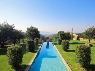 Magnificent 16th-Century Priory in Provencal Countryside with Heated Pool, Tennis Court & Views - Luberon vacation rentals