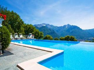 Villa Bellavista with astonishing lake view, infinity pool & central location - Lombardy vacation rentals