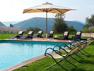 Inspiring Villa Caminata offers lush gardens, incredible views and maid service - Perugia vacation rentals
