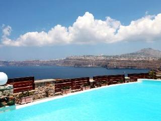 Michaela Residence - Villa on hilltop with amazing views, infinity pool & playful character - Akrotiri vacation rentals