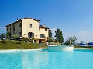 Villa Colle Sereno with beautiful views of the Tuscan countryside, gym and jacuzzi - Montaione vacation rentals